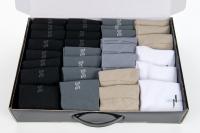 Набор мужских носков в кейсе - Микс