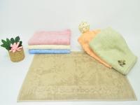 """Полотенце бамбуковые для ног """"PUPILLA"""" TREE"""