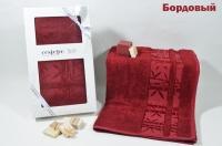 "Полотенце бамбуковое в коробке ""CESTEPE"" ELITE 50X90"