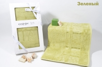 "Полотенце бамбуковое в коробке ""CESTEPE"" JASMINE 50X90"