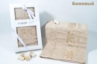 "Полотенце бамбуковое в коробке ""CESTEPE"" PRIVATE 50X90"