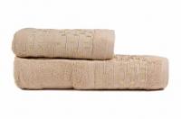"Набор бамбуковых полотенец ""ESBELLA"" CHRUCH - Бежевый"