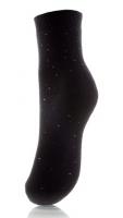 Женские плюшевые носки в горошек JП2