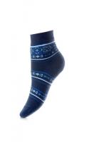 Теплые плюшевые женские носки JП3