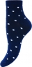 Женские бамбуковые носки в крупный горошек JB3