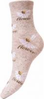 Льняные носки женские JL2