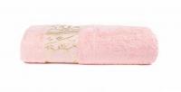 "Полотенце бамбуковое ""JUANNA"" ELIT 70х140 - Розовый"