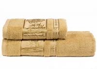"Набор бамбуковых полотенец ""TWO DOLPHINS"" PRIME - Бежевый"